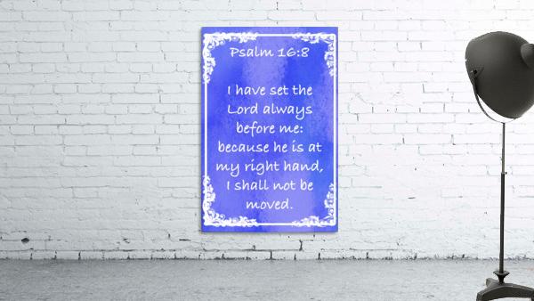 Psalm 16 8 8BL
