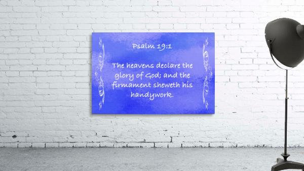Psalm 19 1 4BL