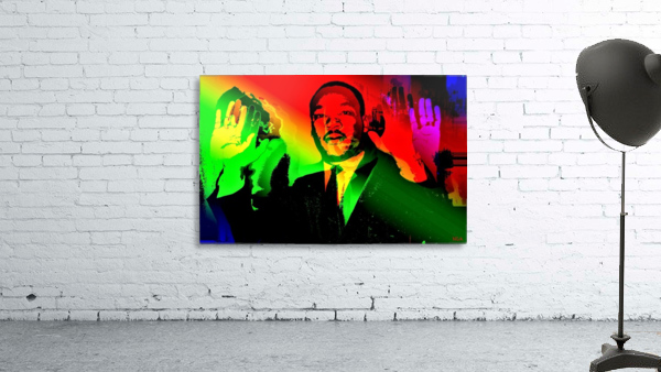 Martin Luther King - Dont Shoot - by Neil Gairn Adams