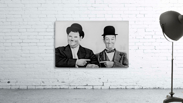 Laurel and Hardy -  by Neil Gairn Adams