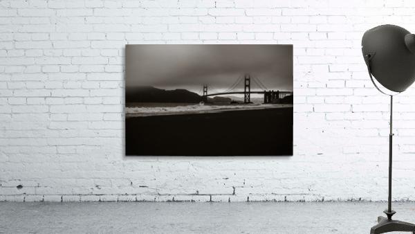 B&W Golden Gate