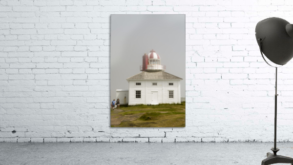 Original Cape Spear Lightkeepers house and light tower built in 1836 2