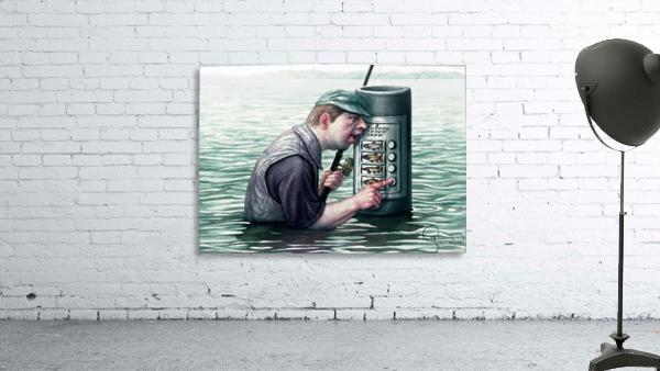 Call for fish by Krzysztof Grzondziel