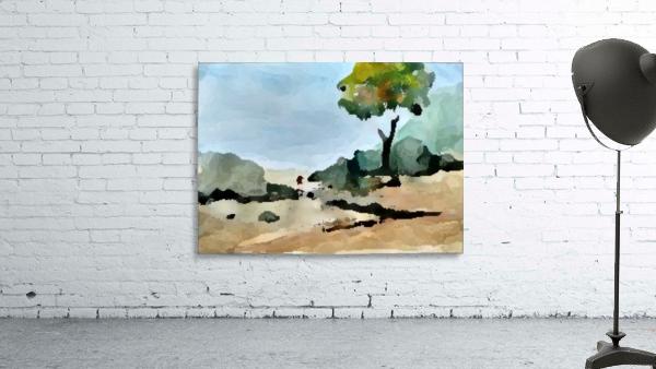 Tree sand water