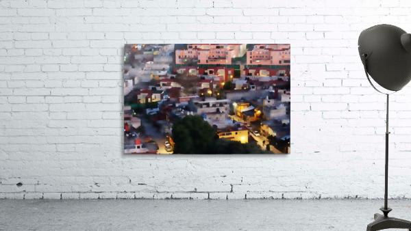 Town rendering