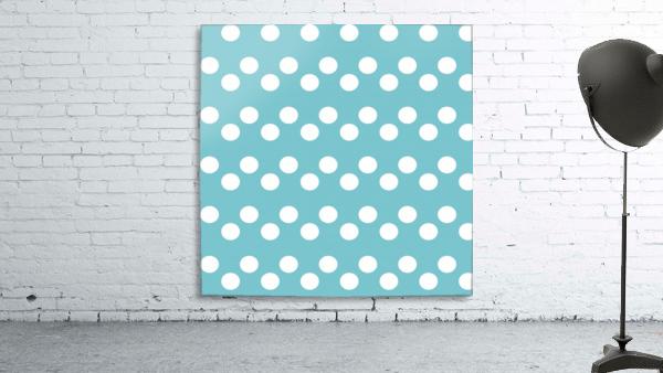 CADET BLUE Polka Dots