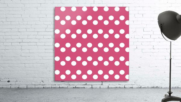 CRANBERRY Polka Dots