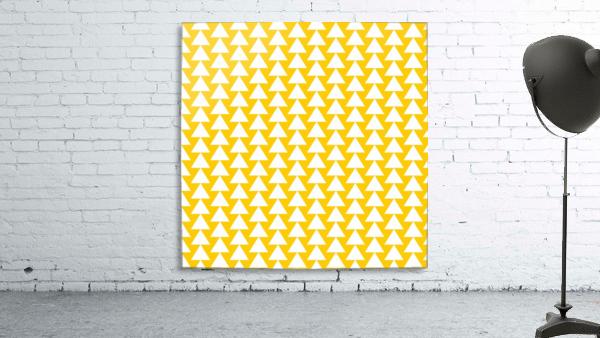 Yellow  White triangle