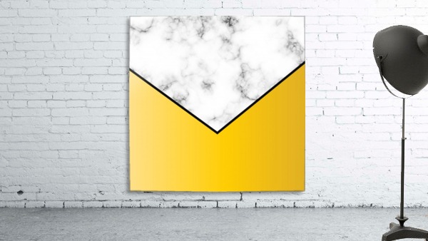 ABSTRACT YELLOW PASTEL MODERN MARBLE