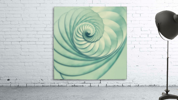 Composition in Celadon