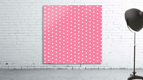 Pink Sherbet Heart Shape Pattern