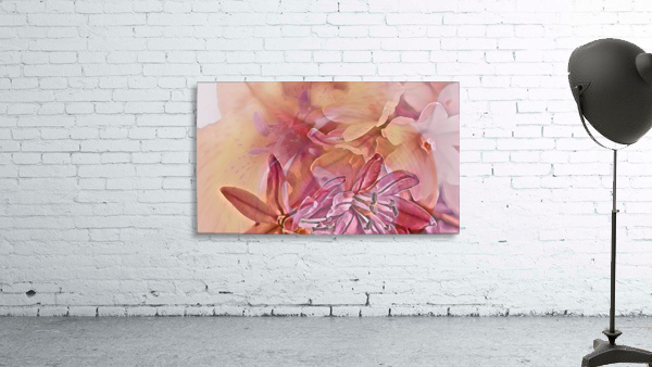 Pink iced flower