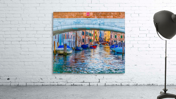 Afternoon Light in Venice Canal