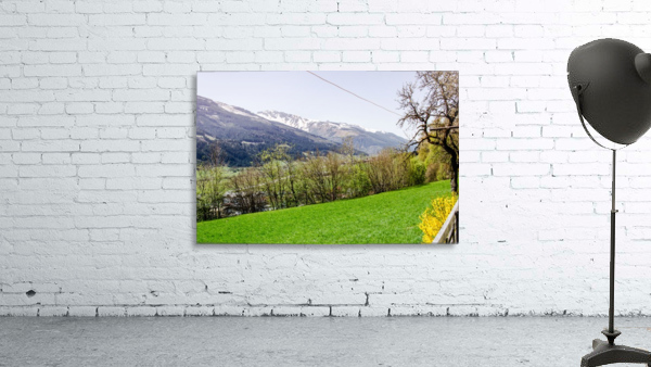 Niedernsill Landscape Austrian Alps