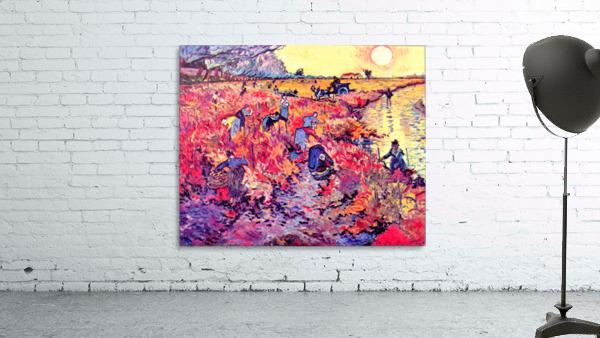 The red vines by Van Gogh