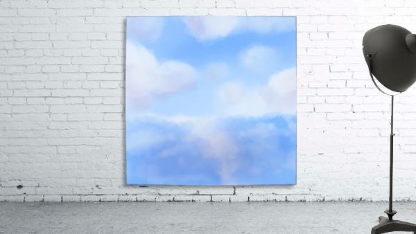 Happy Clouds - Original Artwork