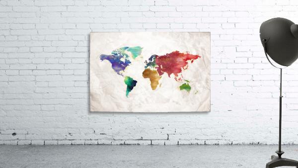 Artistic World Map II