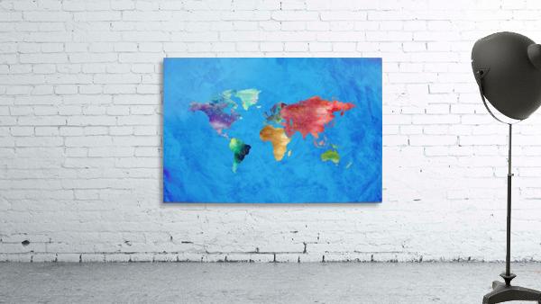 Artistic World Map III