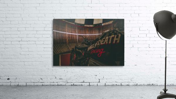 Wall of death Harley Davidson