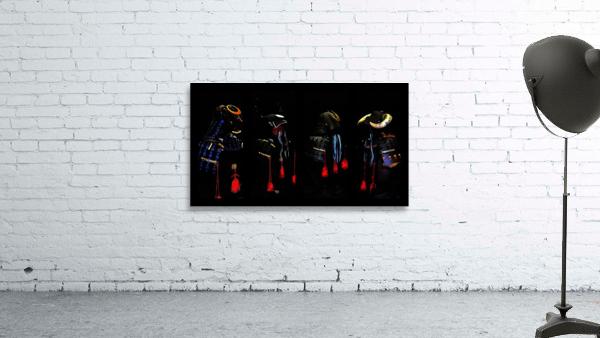 Memories of Samurai Black Armour Collage