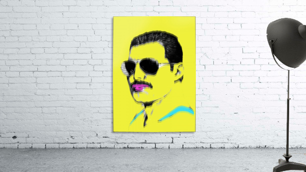 Yellow Freddie Mercury
