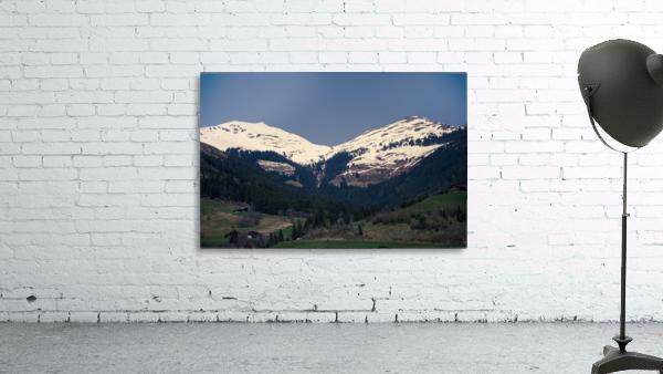Snowy Alps