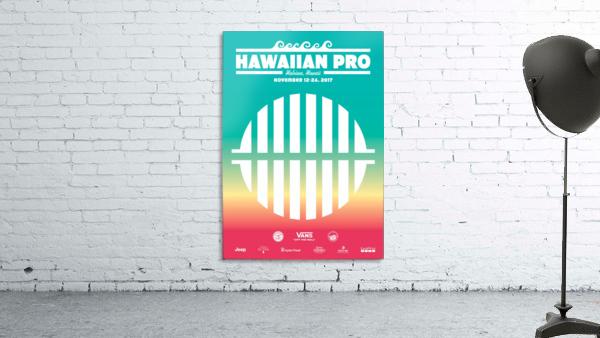 2017 HAWAIIAN PRO Surf Competition Print