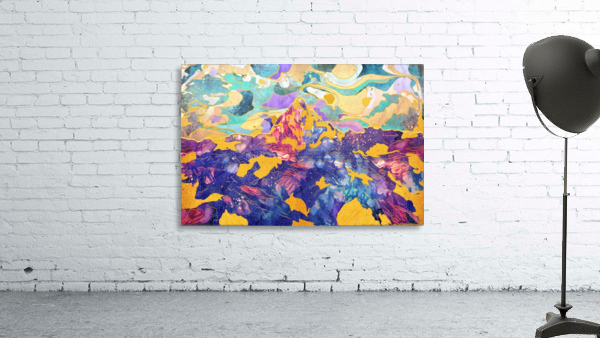 Dreamy Mountain - Illustration II