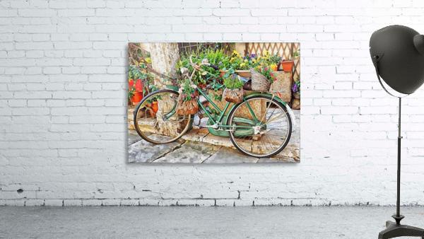 Decorative Bicycle In Cortona
