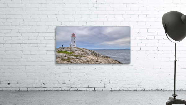 Alone at Peggys Cove.