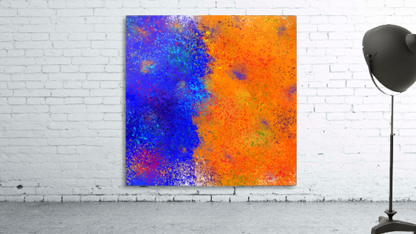 Seisnahorra - orange and blue balanced freedom