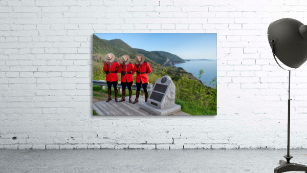 Respect and Honour - RCMP on French Mountain