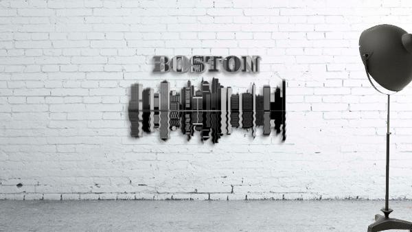 Boston cityscape buildings skyscrapers