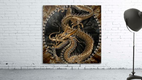 fantasy Dragon Pentagram