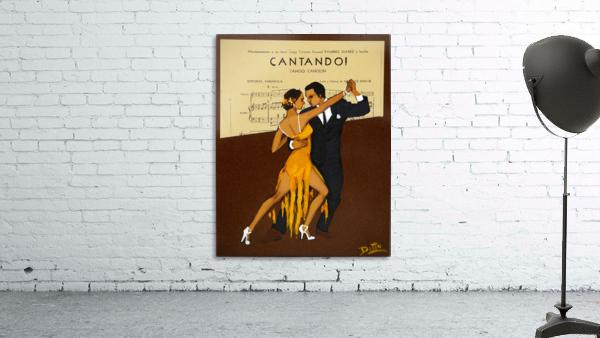 advertisement tango music dance