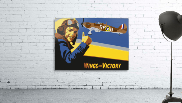 vintage war pilot airplane victory
