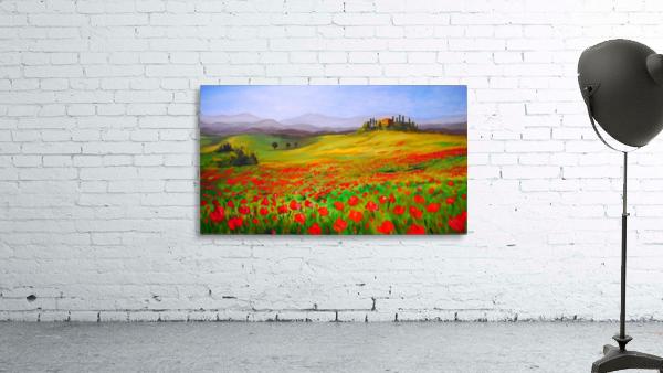 painting art landscape acrylic