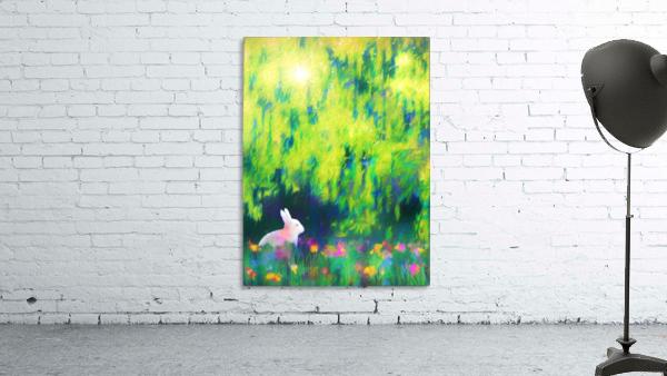 Bunny beneath the Willow Tree