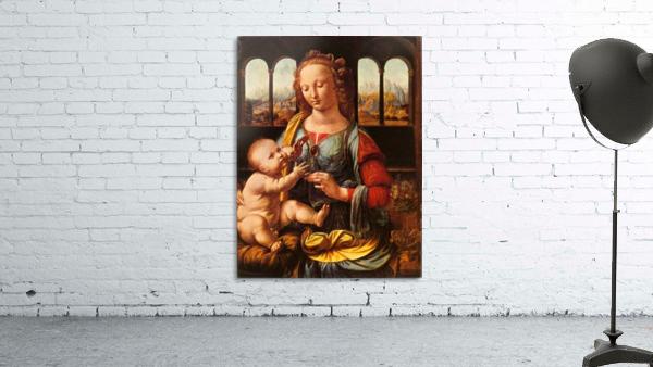 Leonardo da Vinci. The Madonna of the Carnation HD 300ppi