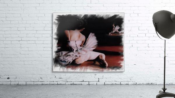Ballerina In The Mirror .