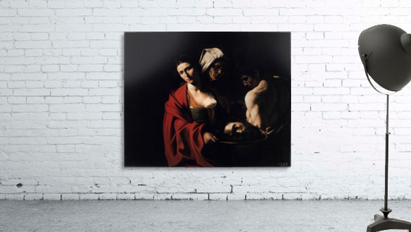 Salome with the head of the Baptist