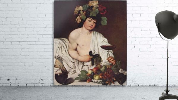 Self portrait Caravaggio