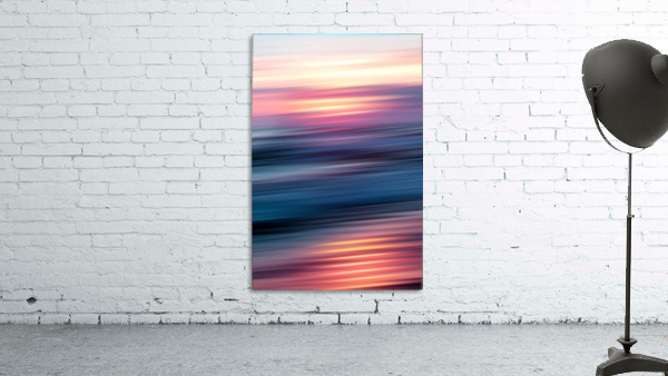 Abstract Sunset XII