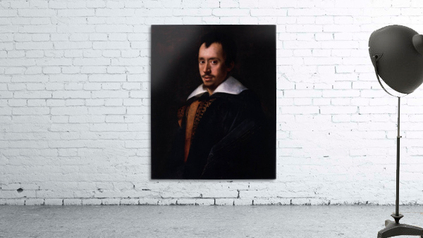 Portrait of the Poet Giambattista Marino