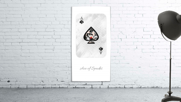 playing cards ace of spades