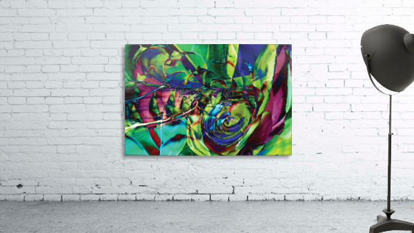 swirling abstract shapes