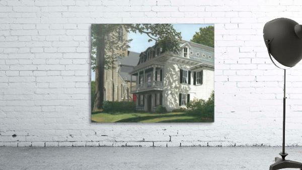 Balcony House Shadows - Newtown Scenes 16X20