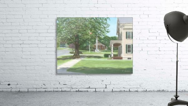 Main Street Monument - Newtown Scenes 16X16
