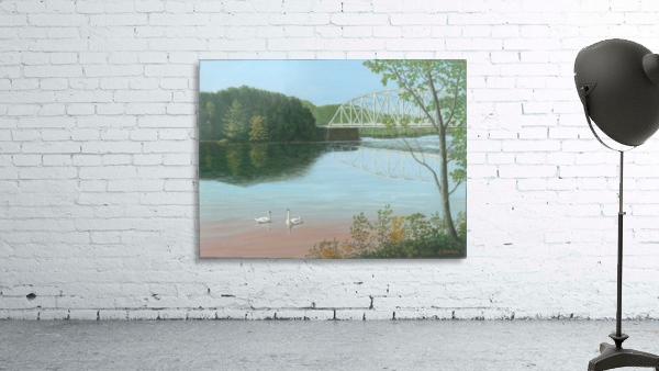 Silver Bridge - Newtown Scenes 18X24
