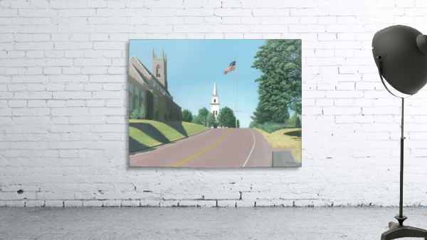 Church Hill Road - Newtown Scenes 12X16